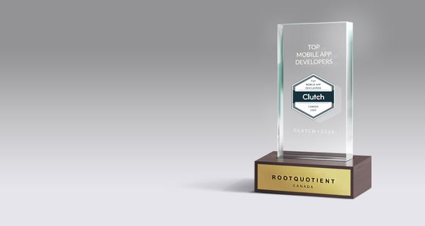 RootQuotient is Honored to be Named Top Mobile App Developer in Montreal by Clutch!